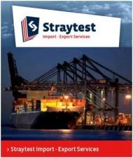 Straytest Import & Export Services logo